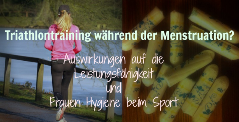 Triathlontraining während der Menstruation